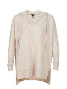 Scoop NYC Cashmere Hoodie Soft Sweater