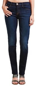 J Brand Mid Rise Straight Leg Jeans-Medium Wash