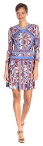BCBGMAXAZRIA short dress Saffron Combo Long Sleeve Damika on Tradesy