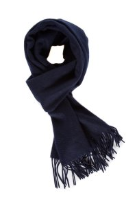 Marc Jacobs Marc Jacobs Navy Cashmere Scarf