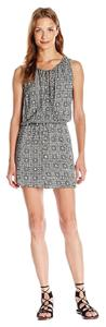 BCBGeneration Sleeveless Printed Dress