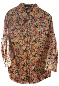 Express Button Down Shirt Multicolored