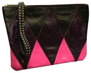 Juicy Couture multi & mohair Clutch