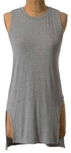Anthropologie Super Soft Racerback Top Grey