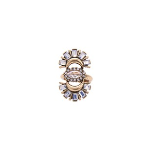 Other Fan Crystal Stone Statement Ring