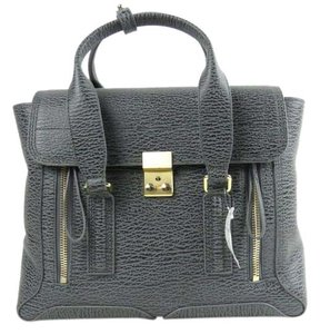 3.1 Phillip Lim Pashli Satchel in Ash/Charcoal