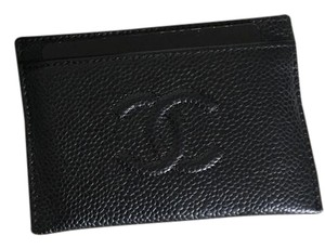 Chanel CC O-Card Holder