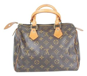 Louis Vuitton Speedy 25 Monogram Speedy Shoulder Bag