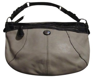 Coach /shoulder Great Everyday Excellent Condition Color Block Style 'laura' Line Hobo Bag