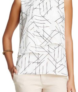 Vince Camuto Top Ivory