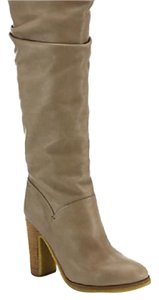See by Chlo beige/khaki leather Boots