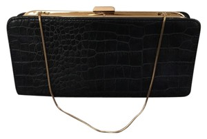 Banana Republic Navy Clutch