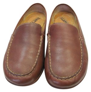 Børn Size 8.00 M Padded Footwear Leather Very Good Condition Brown Flats