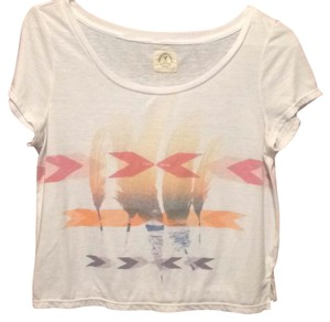 American Eagle Outfitters T Shirt White, Multi