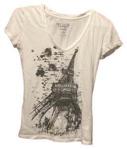 Forever 21 T Shirt white, black