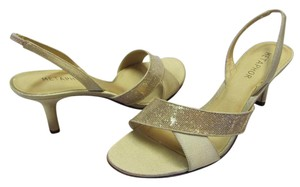Metaphor New Leather Soles Size 10.00 M Very Condition Gold Formal