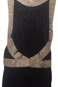 Roberto Cavalli Top Black/Gold