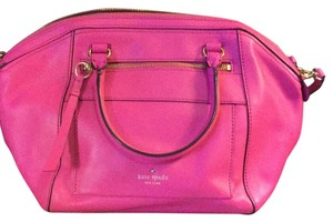 Kate Spade Satchel in bright pink