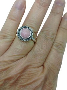 PANDORA Pandora, sugar and spice, pink opal, fashion ring