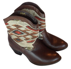 Wanted Brown,multi earth tones Boots