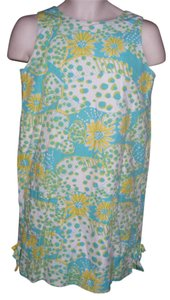 Lilly Pulitzer short dress Multicolor Short Spotted Fish Cotton Lilly Beach on Tradesy