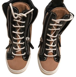 Giuseppe Zanotti black ,brown and golden Athletic
