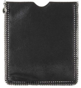 Stella McCartney Signature Black Chain Link Trim iPad Tablet Case Holder Cover