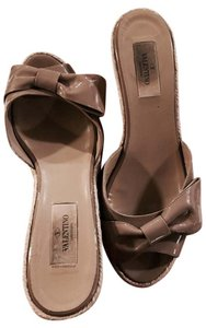 Valentino Nude Wedges