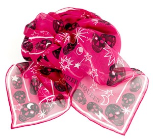 Alexander McQueen Skull and Star Scarf