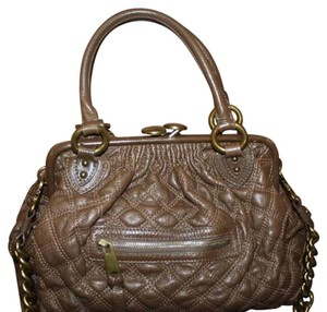 Marc Jacobs brown stam bag Satchel in brown