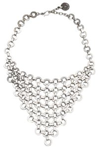 Other Hand-crafted Fluid Chain Links Statement Necklace