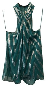 Robbi & Nikki by Robert Rodriguez Top silver, green