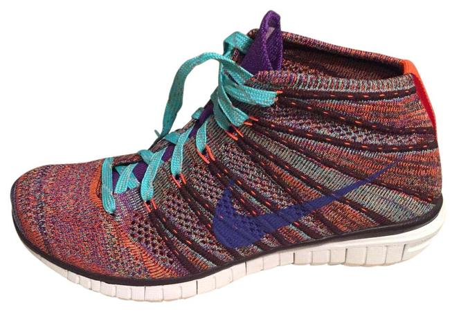 Item - Multi-color Flyknit Chukka Sneakers Size US 6.5 Regular (M, B)