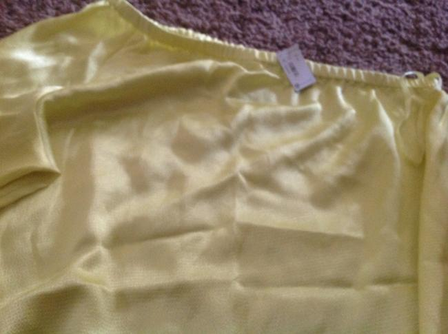 The Limited One Shoulder Soft Top Yellow