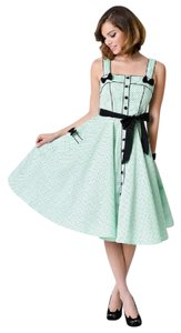 Hell Bunny Vintage Rockabilly Pinup Swing Dress