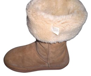 EMU Leather Tall tan Boots