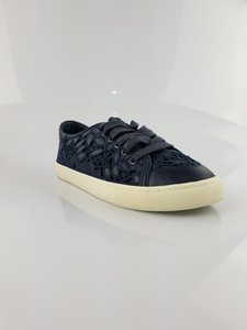 Tory Burch Sneakers Leather Festival Navy Flats