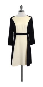 Marc by Marc Jacobs short dress Black Ivory Color Block on Tradesy
