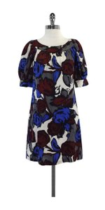 Trina Turk short dress Floral Print Silk on Tradesy