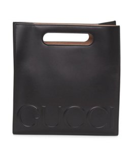 Gucci Shopping Tote in Black