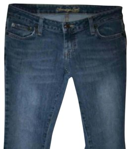 American Eagle Outfitters Flare Leg Jeans-Medium Wash