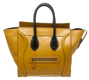 Céline Tote in Yellow and Black
