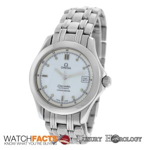 Omega Omega Seamaster 2501.21 Date Steel 36mm Chronometer Automatic Watch