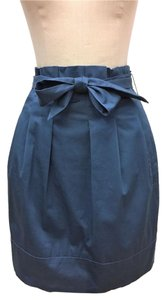 BCBGMAXAZRIA Bcbg Belt Blue Skirt