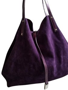 Tiffany & Co. Reversible Metallic Large Tote in purple