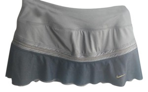 Nike Nike Dri Fit tennis skirt with flirty mesh overlay + shorts underneath