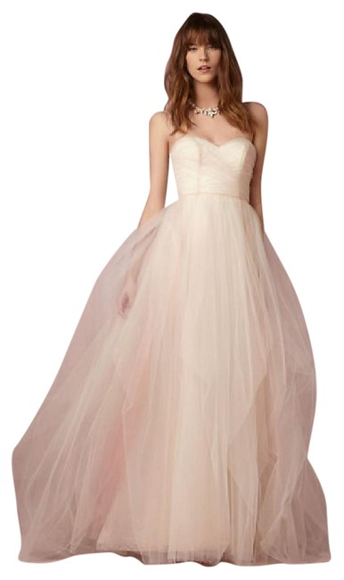 Item - Ivory with Ombre Into Bella Long Formal Dress Size 6 (S)
