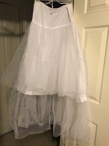 White Tule and Satin Slip