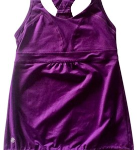 Athleta Athleta Racerback Tank with drawstring and built-in sports bra.