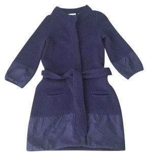 Vince Coat Plum Sweater